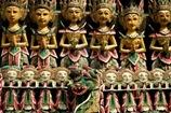Sculptures en bois traditionnelles - Bali