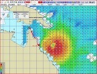 Maxsea Cyclone Yasi Fevrier 2011