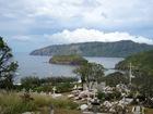 surplombant la splendide baie d'Atuona
