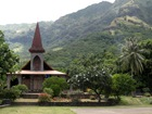 Eglise monumentale de Tahuata