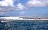 La passe entre Océan et Lagon