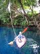 promenade en canoë dans se lieu mystique